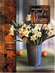 Cover of: Abundance from God's Heart in Autumn | J. Countryman