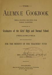 The alumnæ cookbook