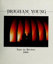 Cover of: Year in review | Brigham Young University