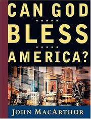 Cover of: Can God Bless America? | John MacArthur