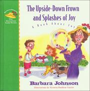 Cover of: The upside-down frown and splashes of joy
