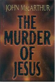 Cover of: The Murder Of Jesus