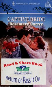 Cover of: Captive bride by Rosemary Carter