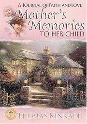 Cover of: A Mother's Memories To Her Child