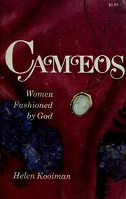 Cover of: Cameos | Helen Kooiman
