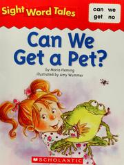 Cover of: Can we get a pet? | Maria Fleming