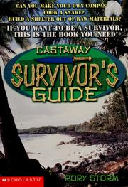 Cover of: Castaway survivor's guide | Rory Storm