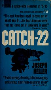Catch-22 by Joseph Heller, Heller, Joseph