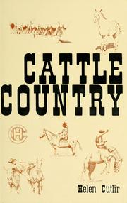 Cover of: Cattle country | Helen Cutlir