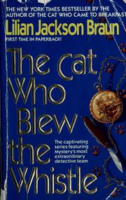 Cover of: The cat who blew the whistle | Jean Little