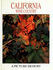 Cover of: California wine country | Bill Harris