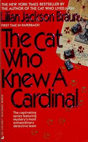 Cover of: The cat who knew a cardinal | Jean Little