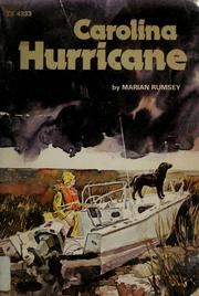 Cover of: Carolina hurricane | Marian Rumsey