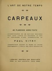 Cover of: Carpeaux