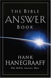 Cover of: The Bible Answer Book