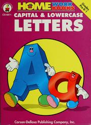 Cover of: Capital & lowercase letters |