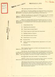 Certificate of vote by Boston Redevelopment Authority