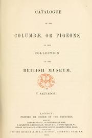Cover of: Catalogue of the Birds in the British Museum | British Museum (Natural History). Department of Zoology. [Birds]