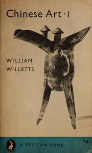 Cover of: Chinese Art 1 | William Willetts