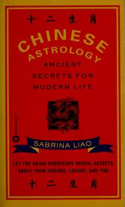 Cover of: Chinese astrology | Sabrina Liao