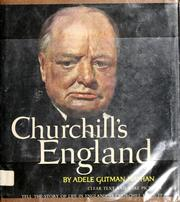 Cover of: Churchill's England | Adele Gutman Nathan