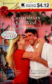 Cover of: Christmas in Key West | Cynthia Thomason