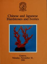 Cover of: Chinese and Japanese hardstones and ivories |