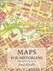 Cover of: Maps for historians