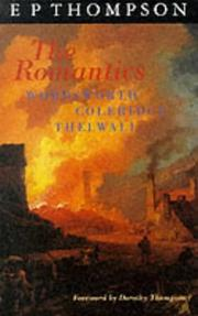 Cover of: Romantics, The: England in a Revolutionary Age