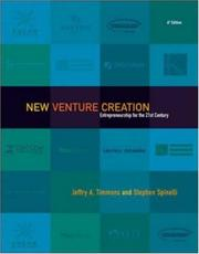 Cover of: New Venture Creation | Jeffry Timmons, Stephen Spinelli