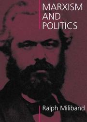 Cover of: Marxism and Politics