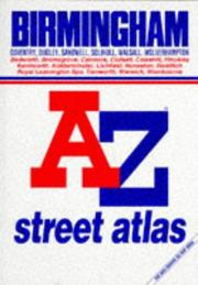 Cover of: Birmingham A-Z Street Atlas and Index | Geographers Map Company
