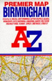 Cover of: Premier Street Map of Birmingham | Geographers