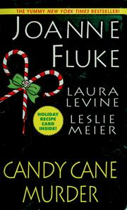 Cover of: Candy cane murder | Joanne Fluke