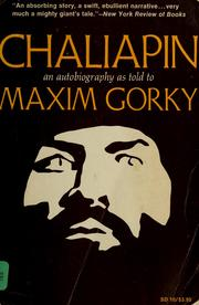 Cover of: Chaliapin | Fyodor Ivanovich Chaliapin
