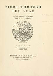 Cover of: Birds through the year by Thomas, William Beach Sir