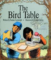 Cover of: The Bird table | Pauline Cartwright