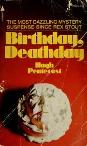 Cover of: Birthday, deathday | Hugh Pentecost