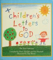 Cover of: Children's letters to God | compiled by Stuart Hample and Eric Marshall ; illustrated by Tom Bloom.