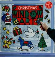 Cover of: Christmas window art | Barbara Kane