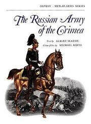 Cover of: The Russian Army of the Crimea | Albert Seaton