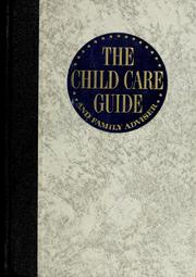 Cover of: The child care guide |