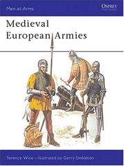 Cover of: Medieval European armies | Terence Wise