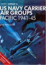 Cover of: US Navy carrier air groups, Pacific, 1941-45