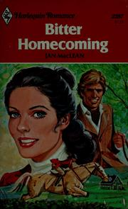 Cover of: Bitter homecoming | Jan MacLean