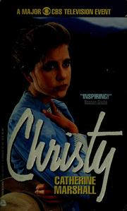 Cover of: Christy | Catherine Marshall