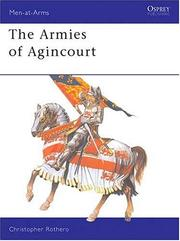 Cover of: The Armies of Agincourt | Christopher Rothero