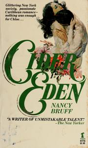 Cover of: Cider from Eden | Nancy Bruff