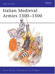 Cover of: Italian medieval armies, 1300-1500