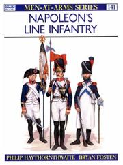 Cover of: Napoleon's Line Infantry